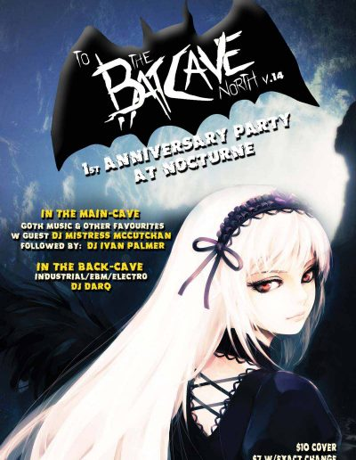 Batcave v14 flyer size